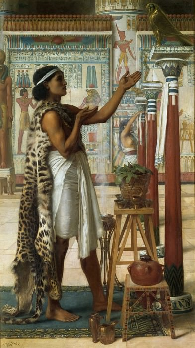 Adoration to Ra. Edward John Poynter