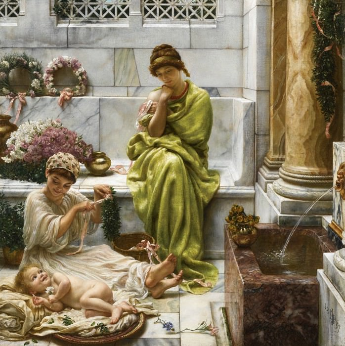 A Corner of the Marketplace. Edward John Poynter