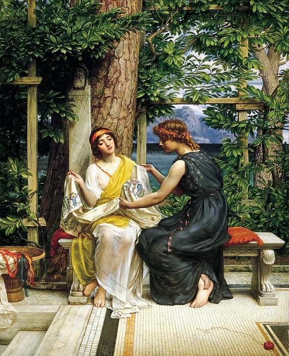 Helena and Hermia. Edward John Poynter
