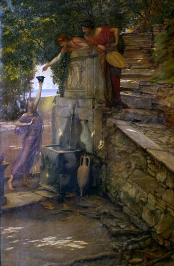 The Cup of Tantalus. Edward John Poynter