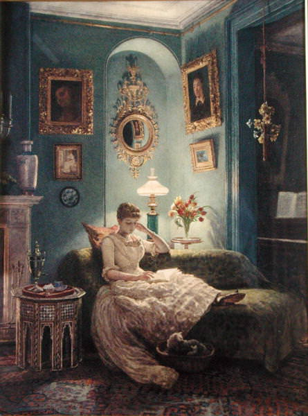 An Evening at Home. Edward John Poynter