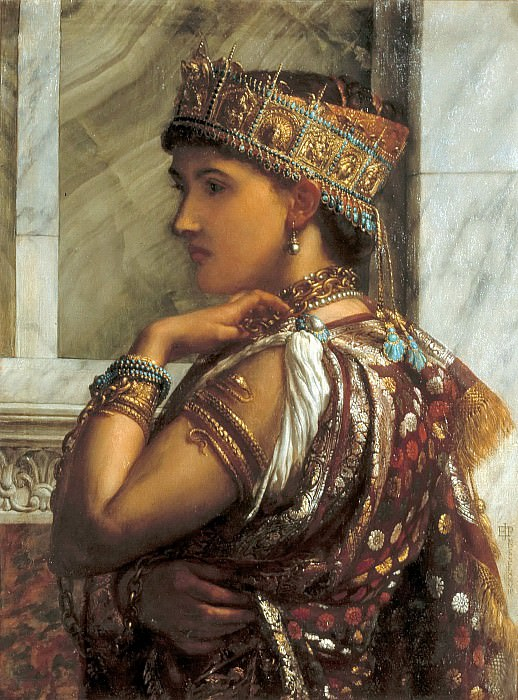 Zenobia Captive. Edward John Poynter