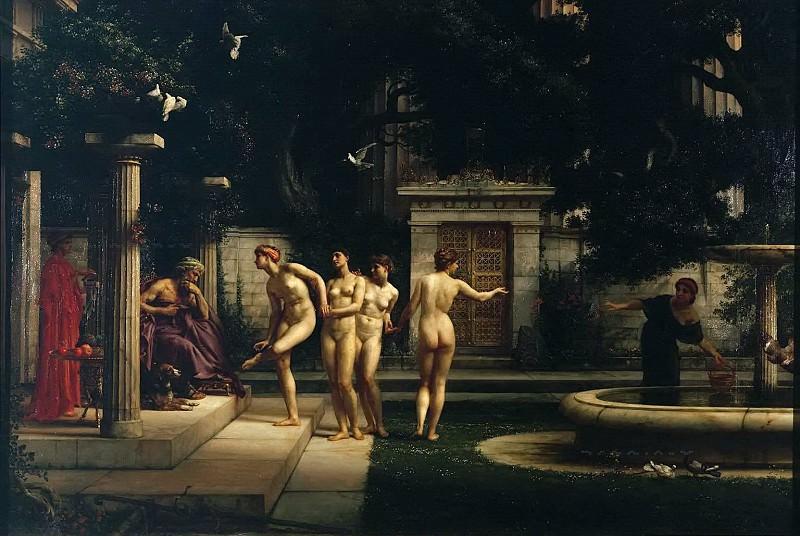 A visit to Aesclepius. Edward John Poynter