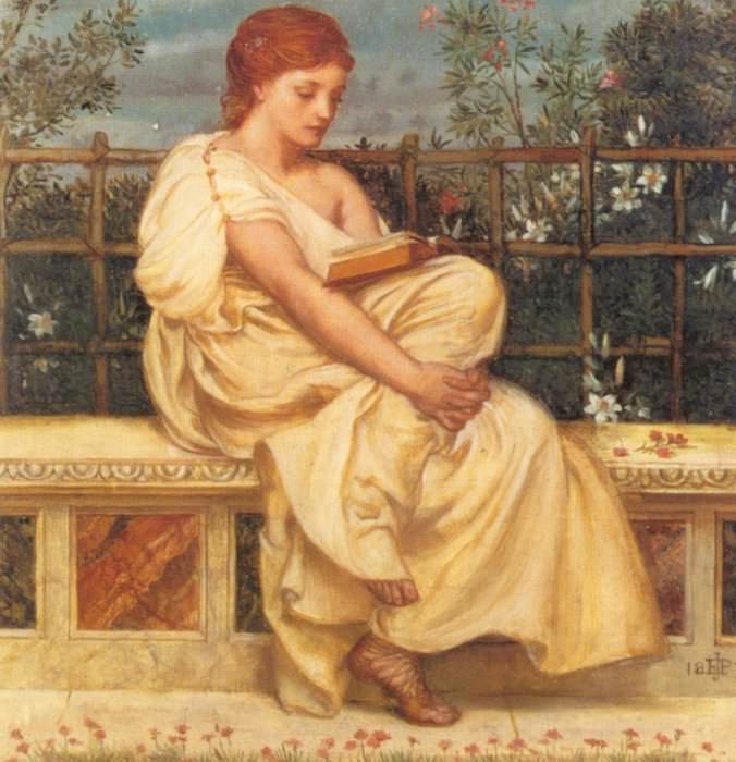 Reading. Edward John Poynter