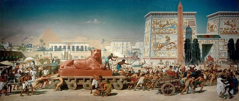 Израильтяне в Египте. Эдвард Джон Пойнтер