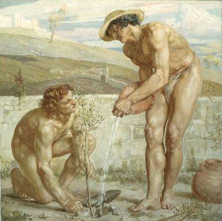Paul and Apollos. Edward John Poynter