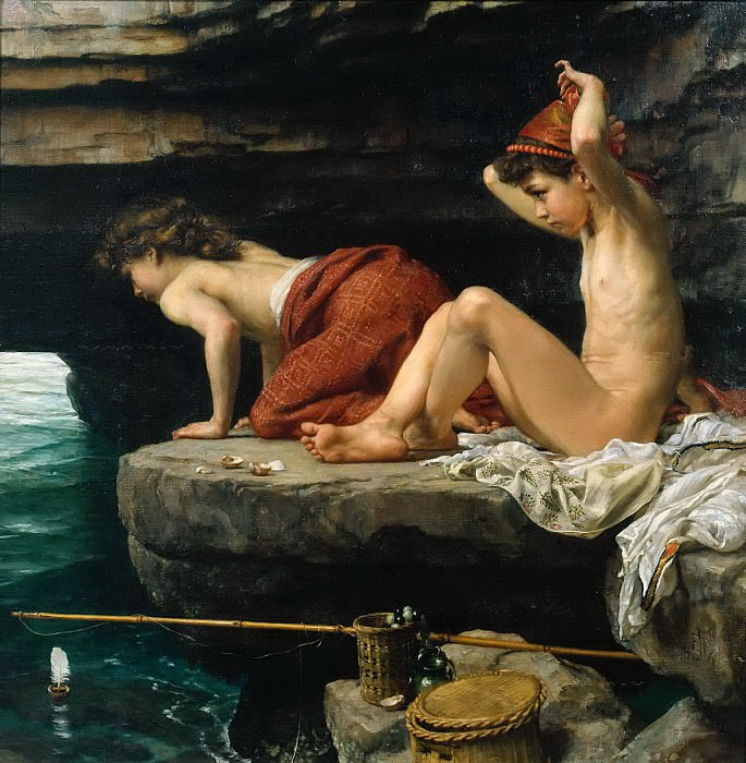 Outward Bound. Edward John Poynter
