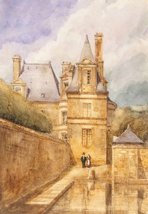 Sullys Terrace, Fontainebleau. Edward John Poynter