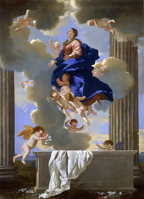 The Assumption of the Virgin. Nicolas Poussin