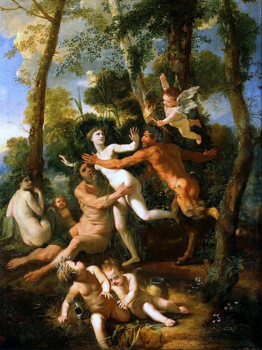 Pan and Syrinx. Nicolas Poussin