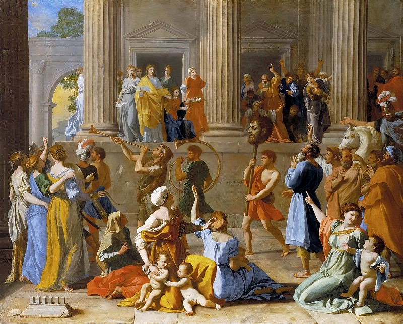 The Triumph of David. Nicolas Poussin