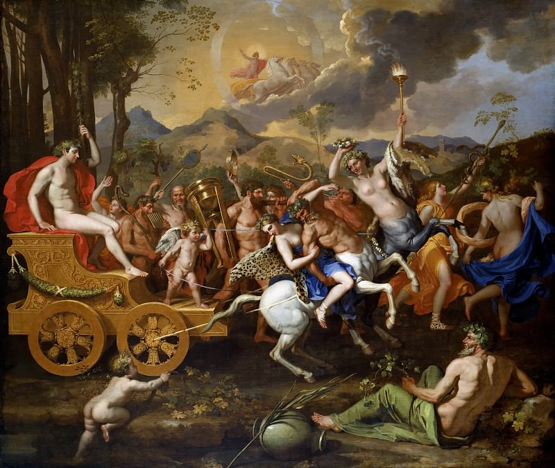 The Triumph of Bacchus. Nicolas Poussin