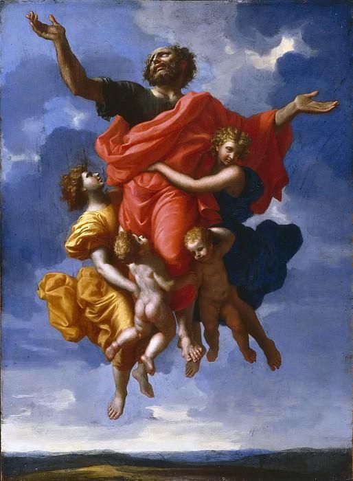 Ecstasy of Saint Paul. Nicolas Poussin