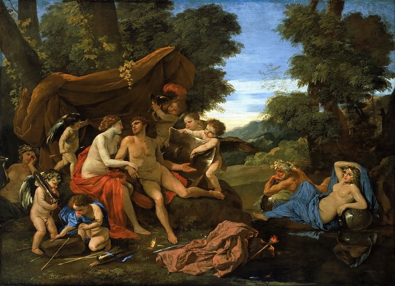 Mars and Venus. Nicolas Poussin