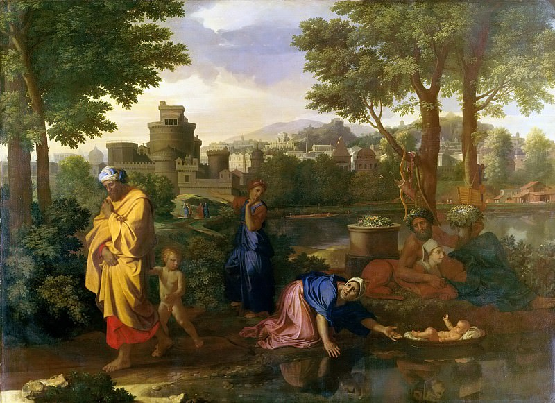 Finding of Moses. Nicolas Poussin