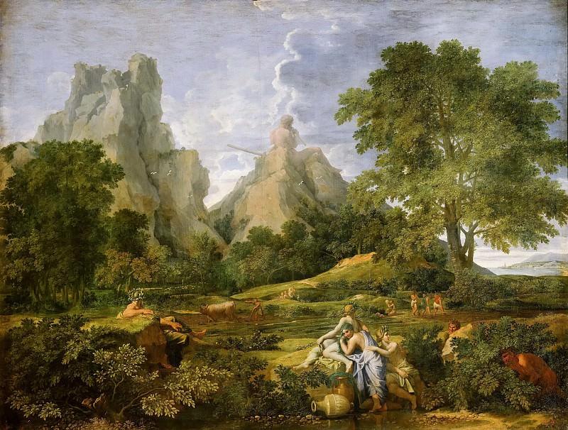 Landscape With Polyphemus. Nicolas Poussin