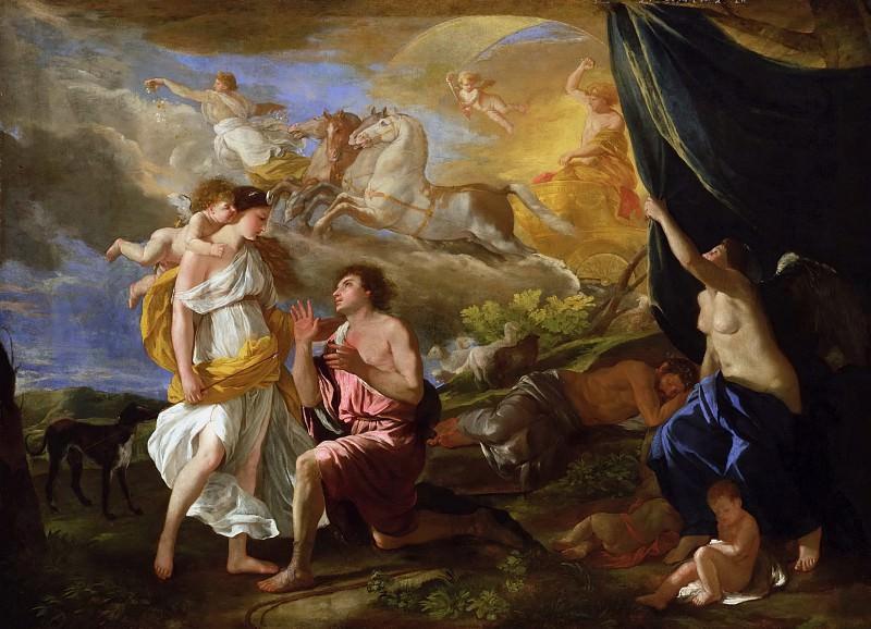 Diana and Endymion. Nicolas Poussin