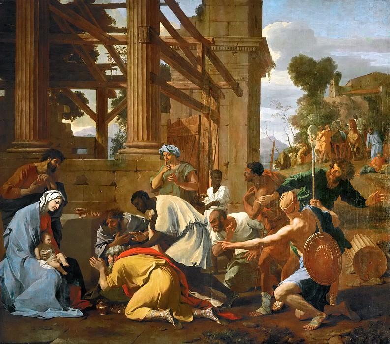 Adoration of the Magi. Nicolas Poussin