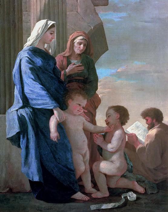 The Holy Family. Nicolas Poussin
