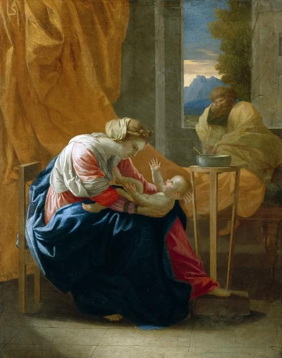 Holy Family. Nicolas Poussin