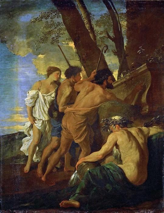 The shepherds of Arcadia (Et in Arcadia ego). Nicolas Poussin
