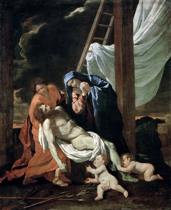 Descent from the cross. Nicolas Poussin