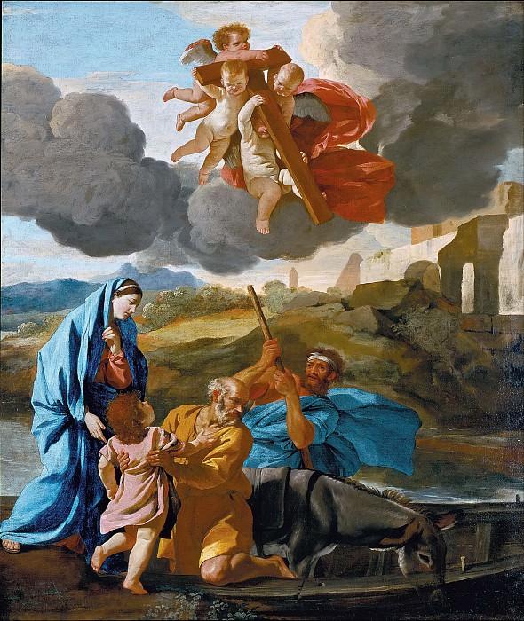 Возвращение Святого Семейства из Египта. Никола Пуссен