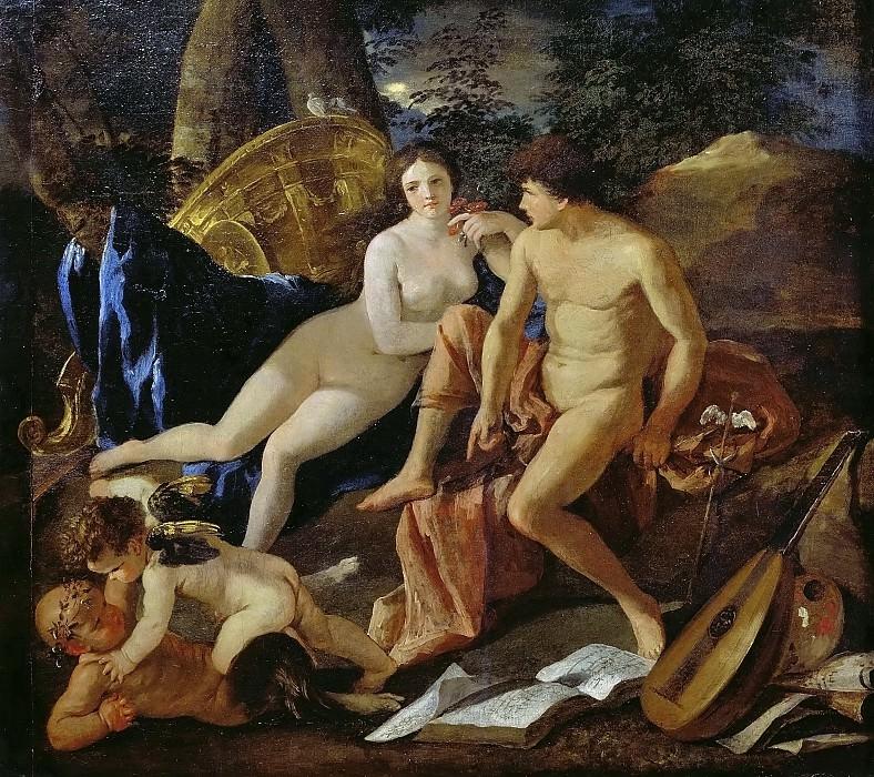 Венера и Меркурий. Никола Пуссен