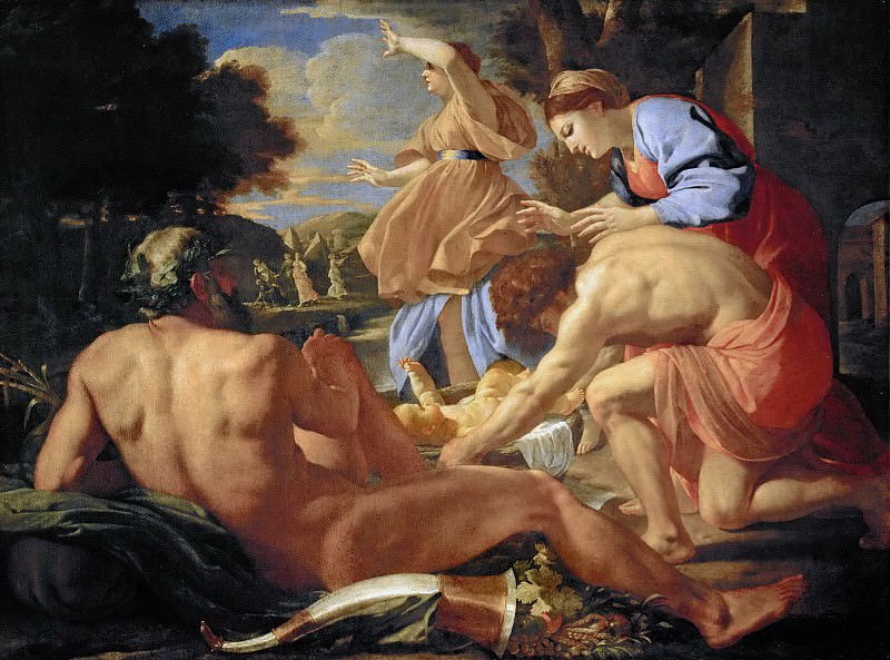 Exposition of Moses. Nicolas Poussin