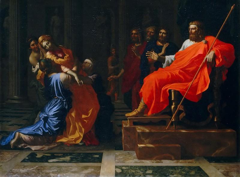 Esther before Ahasuerus. Nicolas Poussin