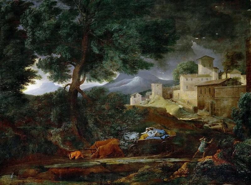 Storm. Nicolas Poussin