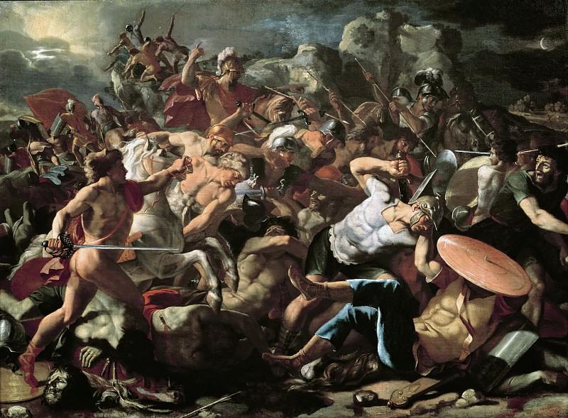 Битва израильтян с амореями. Никола Пуссен