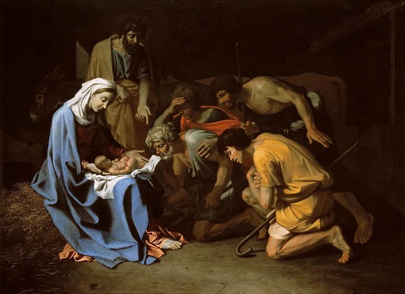 Adoration of the Shepherds. Nicolas Poussin