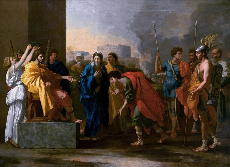 The Continence of Scipio. Nicolas Poussin