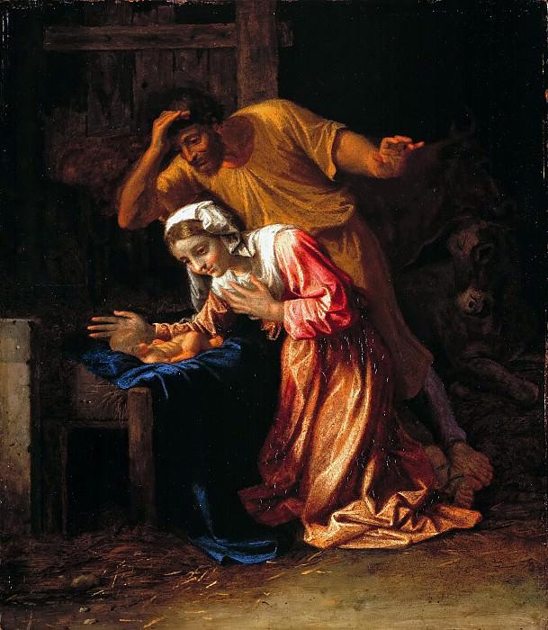 The Nativity. Nicolas Poussin