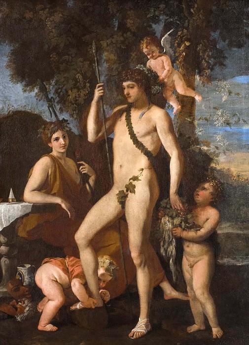 Bacchus-Apollo. Nicolas Poussin