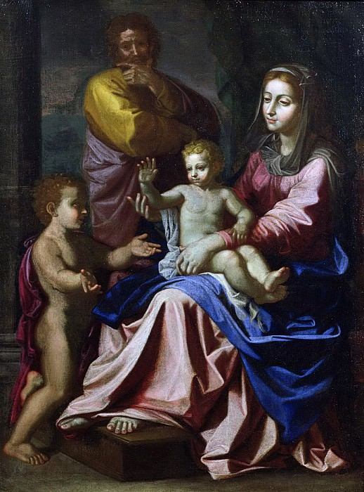 The Holy Family with the Infant St. John. Nicolas Poussin