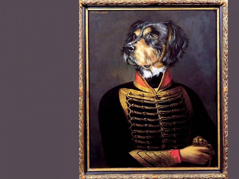 dog portraits marquis don filippo del cruzero. Thierry Poncelet