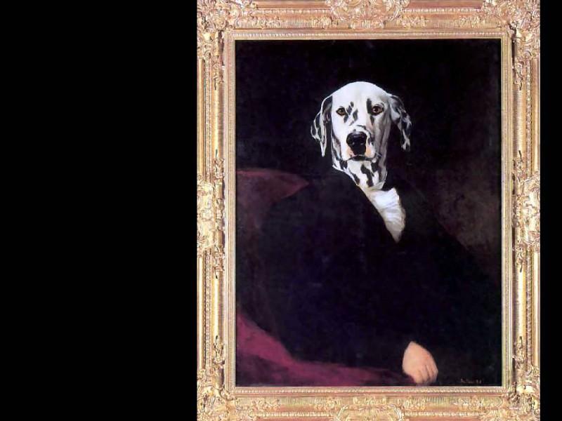 dog portraits karl heinrich mutz. Thierry Poncelet