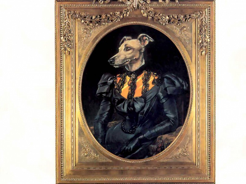 dog portraits duchess elspeth of troon. Thierry Poncelet