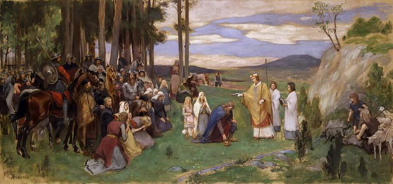 Ansgar Preaching Christianity. Georg Pauli