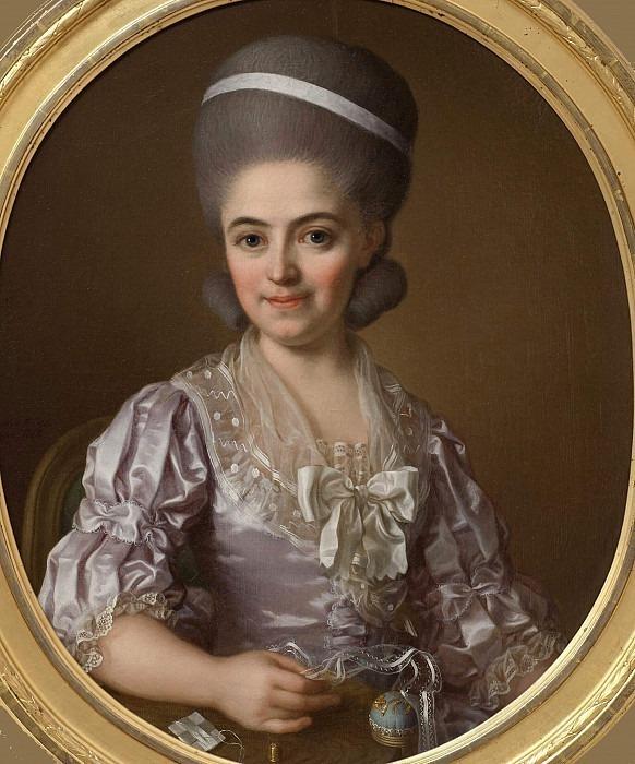 Lovisa Sofia of Geijerstam (1755-1802). Ulrika Fredrika Pasch
