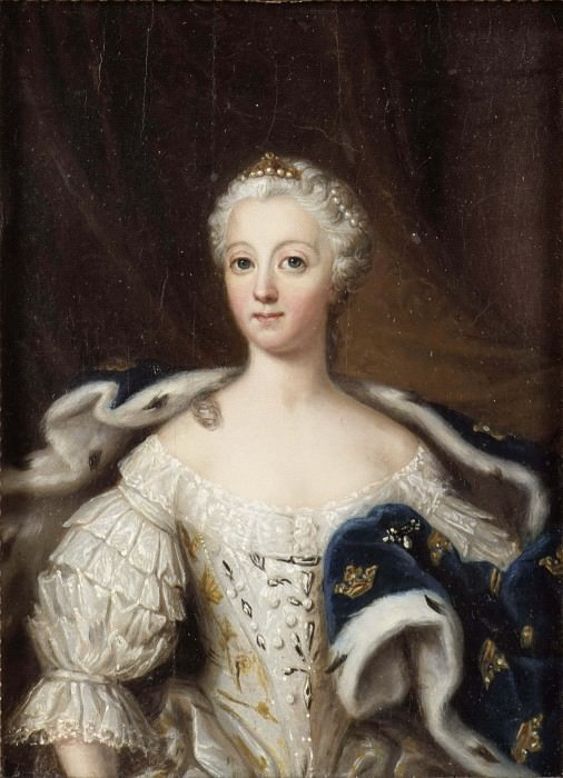 Lovisa Ulrika (1720-1782), Queen of Sweden, Princess of Preussen, married to King Adolf Fredrik. Ulrika Fredrika Pasch