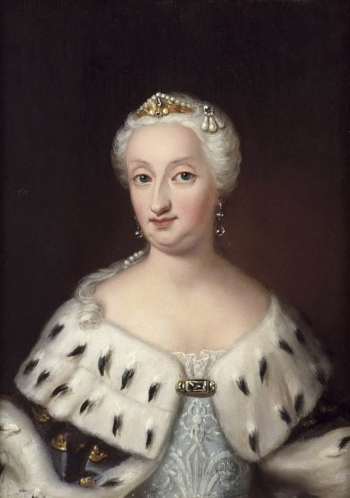 Ulrika Eleonora dy (1688-1741), Queen of Sweden, married to King Fredrik I. Ulrika Fredrika Pasch