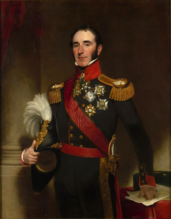 Portrait of Sir John Conroy. Henry William Pickersgill