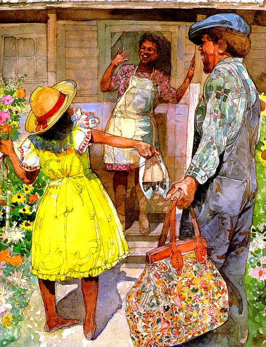 Back Home. Jerry Pinkney