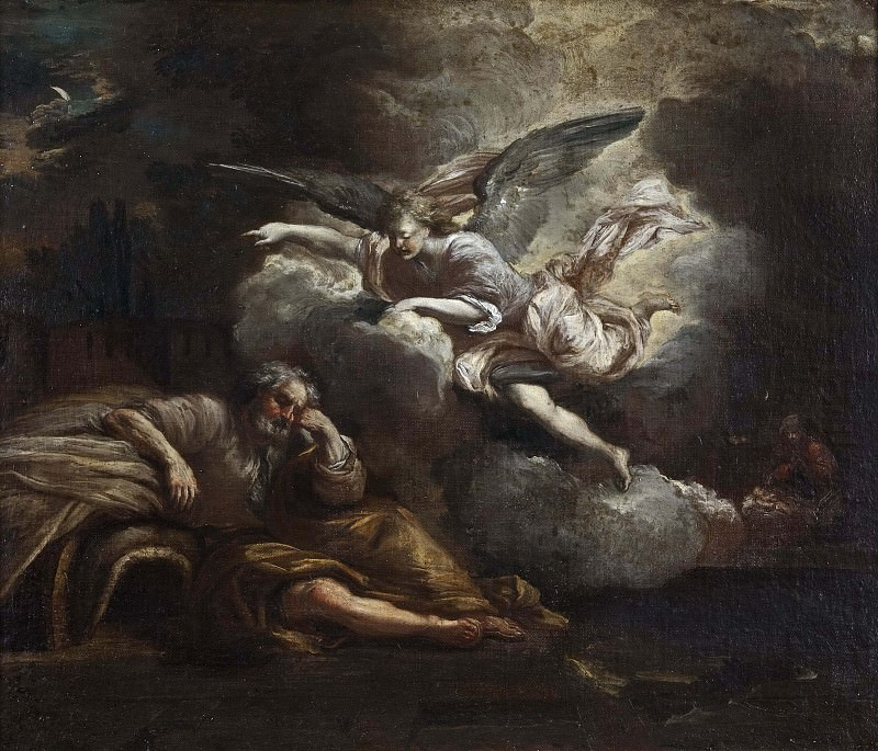 The Dream of Joseph. Giovanni Battista Pace