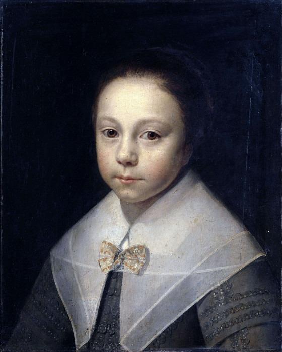Портрет молодой девушки. Энтони Паламедес
