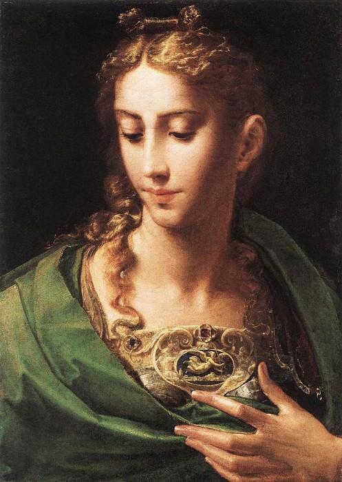PARMIGIANINO Pallas Athene. Parmigianino (Francesco Mazzola)