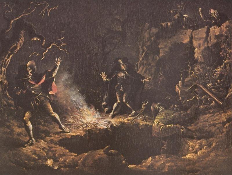 John Quidor-The Gold Diggers (1832) Po Amp 035. John Quidor